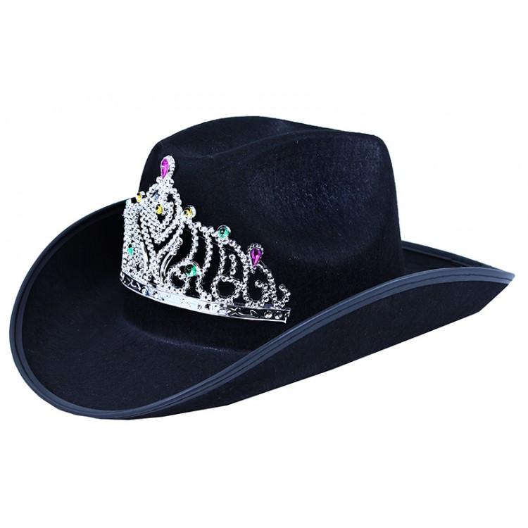 e92ce5d2a klobúk kovbojský s korunkou pre dospelých