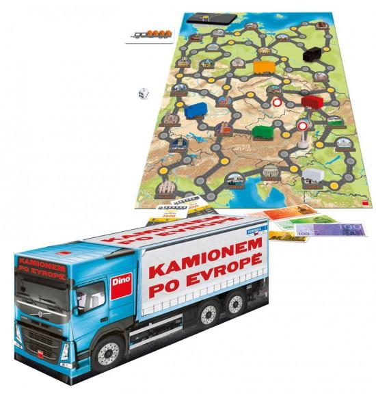 hra Kamiónom po Európe