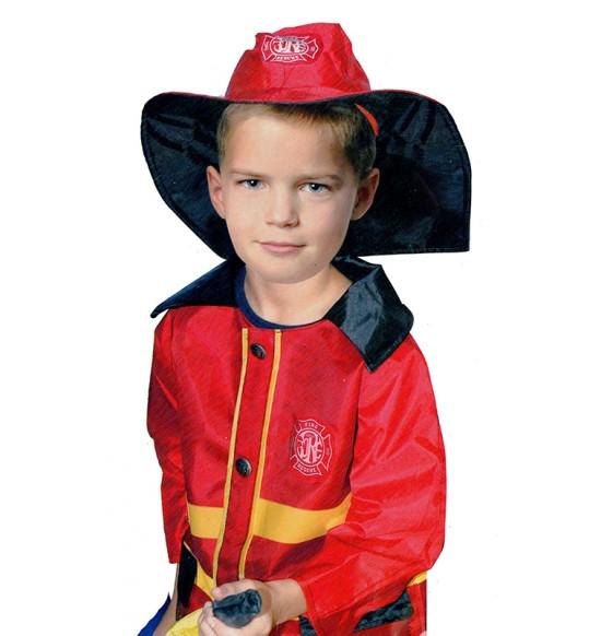 karnevalový kostým požiarnik