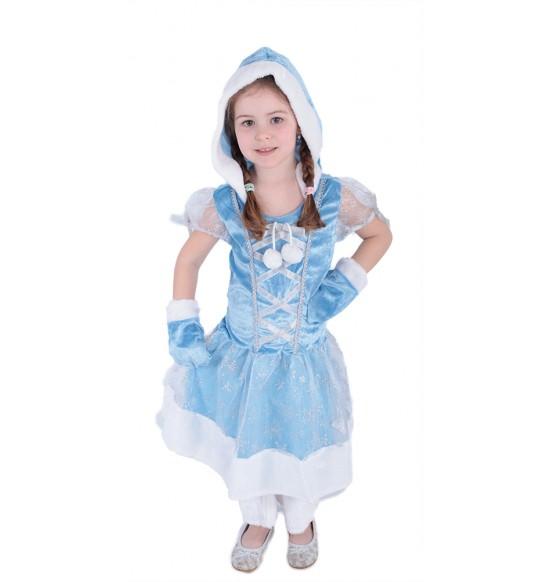 karnevalový kostým princezná kožíšková zimná, veľ. S