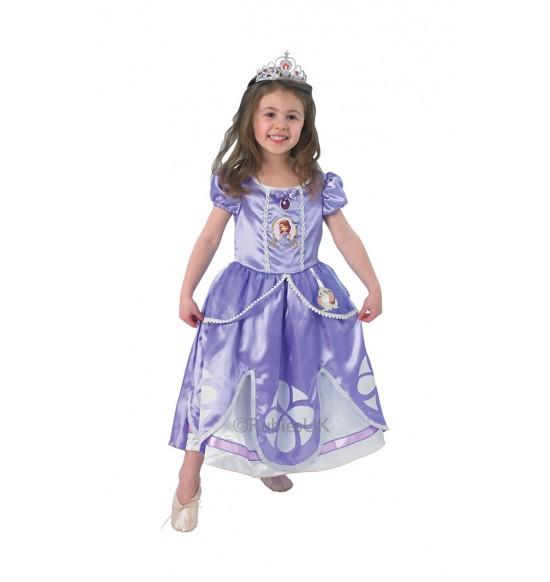karnevalový kostým Disney Sofia Prvá Deluxe, veľ. XS