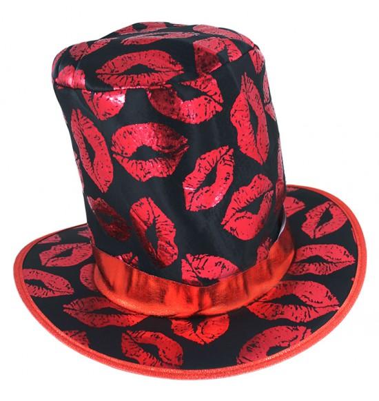 klobúk s pusinkami - dospelý