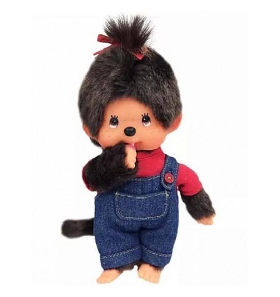 Monchichi dievča v nohaviciach na traky 20