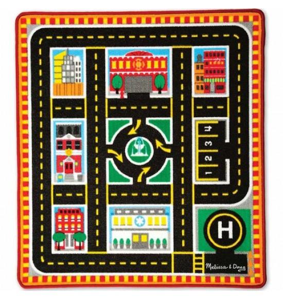 koberec hrací mestská núdzová situácia