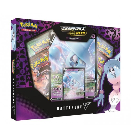 Pokémon TCG: Champion's Path - Hatterene V Collection