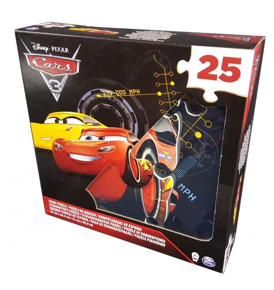 Cars 3 PENOVÉ PUZZLE 25ks