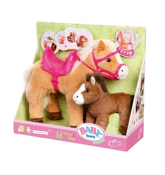 Bb Interaktívny kôň so žriebätom