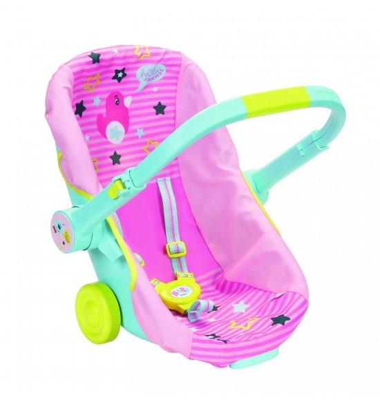 BABY born Prenosná sedačka s kolieskami