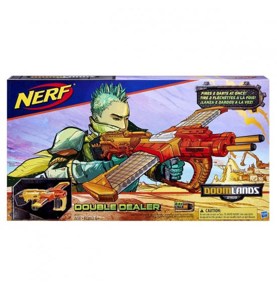 NERF DOOMLANDS Double-Dealer