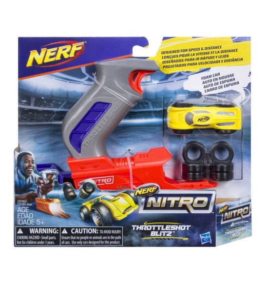 Nerf Nitro Throttleshot Blizt asst