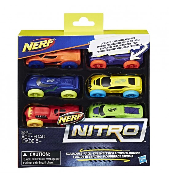 Nerf Nitro náhradní nitro 6 ks asst