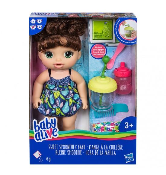 BA Tmavovlasá bábika s mixérom