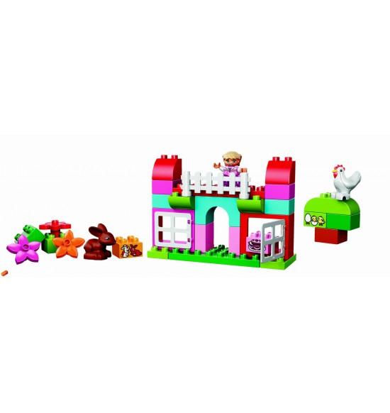 LEGO DUPLO Ružový box plný zábavy