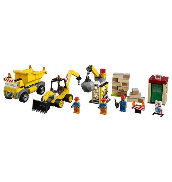 LEGO Juniors 10734 Demolačné práce na stavenisku