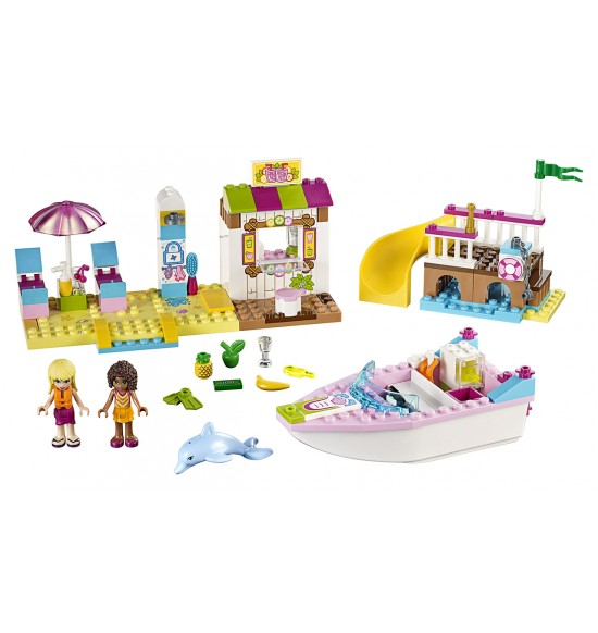 LEGO  Juniors 10747 Andrea a Stephanie na dovolenke na pláži
