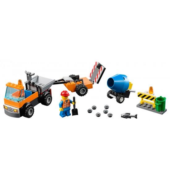 LEGO Juniors 10750 Cestné opravárske vozidlo
