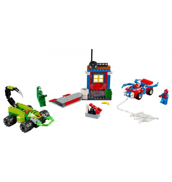 LEGO Juniors 10754 Spider-Man vs. Škorpión - Súboj na ceste