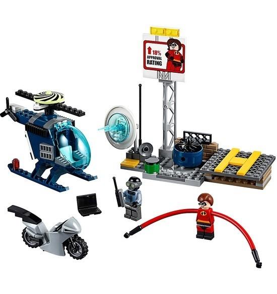 LEGO Juniors 10759 Elastižena a naháňačka na streche