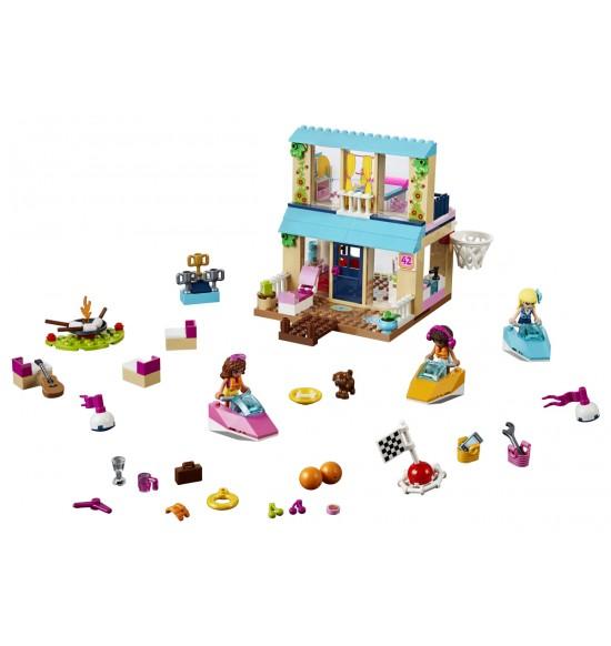 LEGO Juniors 10763 Stephanie a jej dom pri jazere