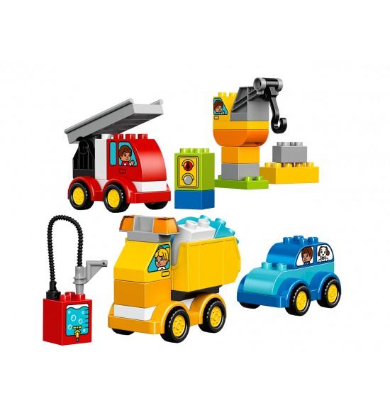 LEGO DUPLO 10816 Moje prvé autíčka a nákladné autá