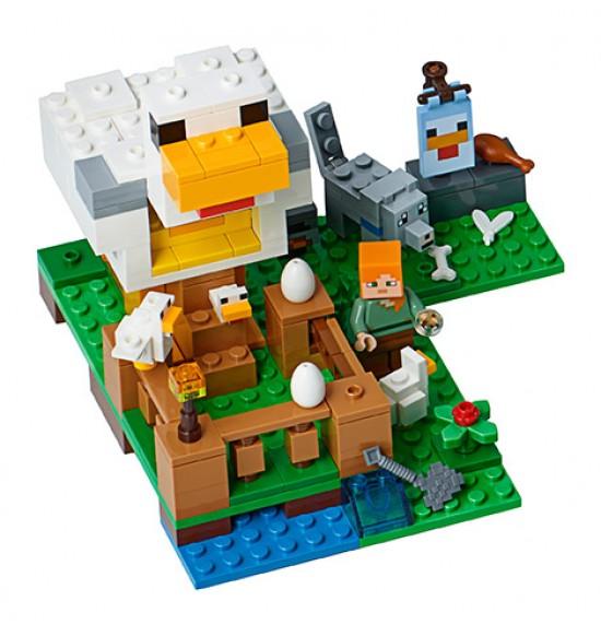 LEGO Minecraft 21140 Kurín