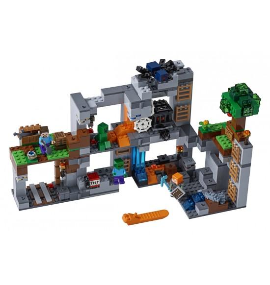 LEGO Minecraft 21147 Dobrodružstvo v skalách