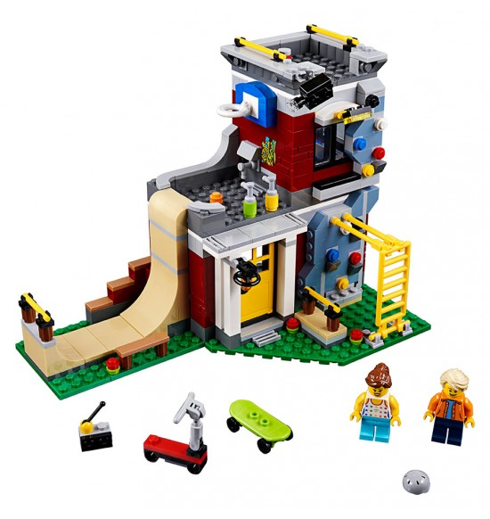 LEGO Creator 31081 Skate dom