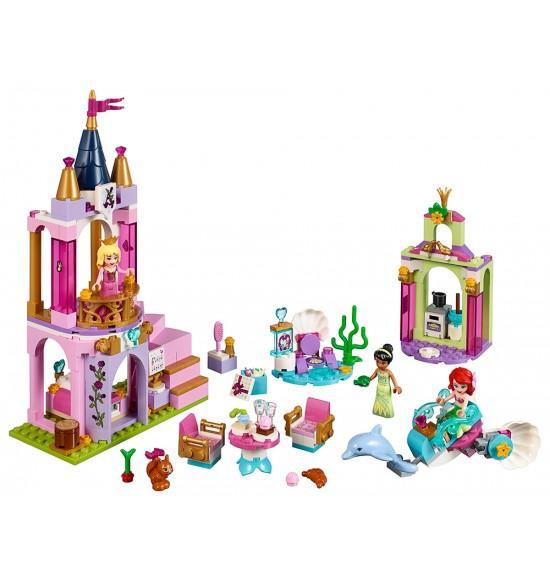 LEGO Disney Princess 41162 Ariel, Aurora, Tiana a ich kráľovská oslava