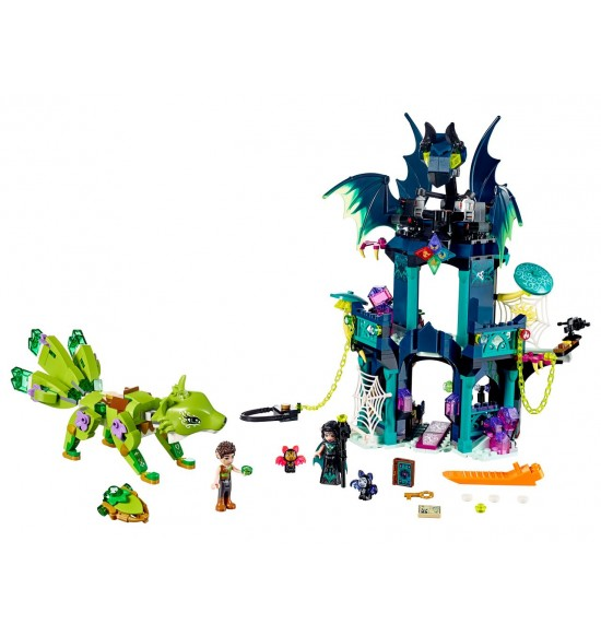 LEGO Elves 41194 Nocturina veža a záchrana zemnej líšky