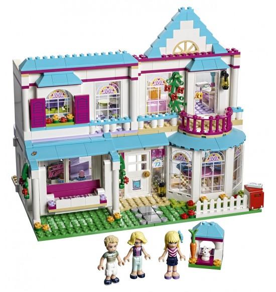 LEGO Friends 41314 Stephanie a jej dom