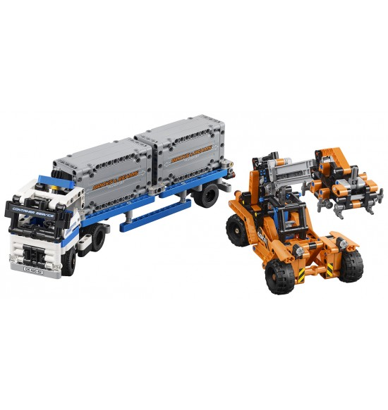 LEGO Technic 42062 Preprava kontajnerov