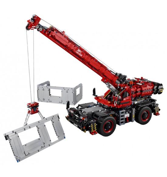 LEGO Technic 42082 Žeriav do náročného terénu