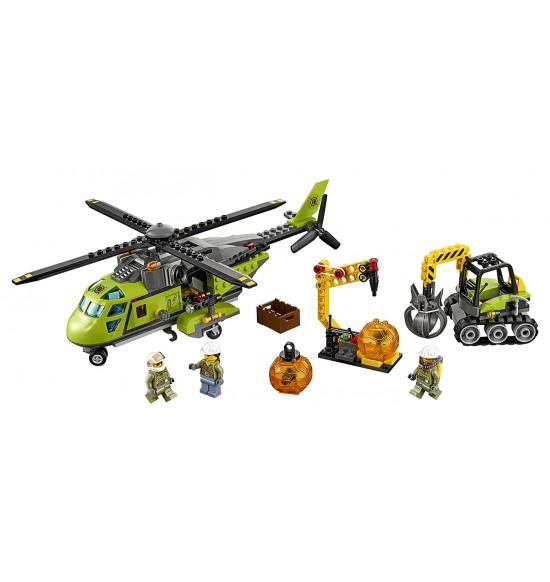 Sopka - zásobovacia helikoptéra