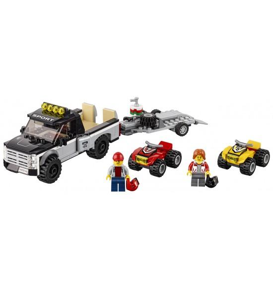 LEGO City 60148 Pretekársky tím štvorkoliek