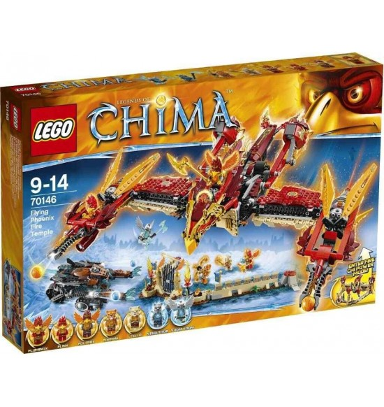LEGO Chima 70146 Ohnivý chrám lietajúceho fénixa