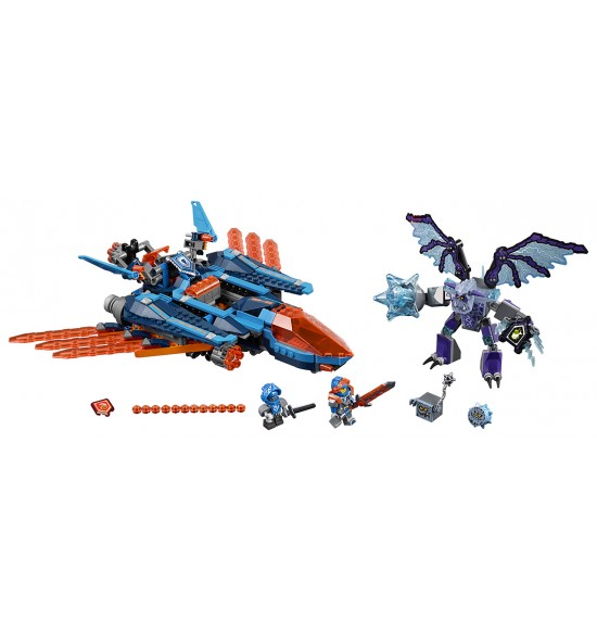LEGO Nexo Knights 70351 Clayov letún Falcon Fighter Blaster