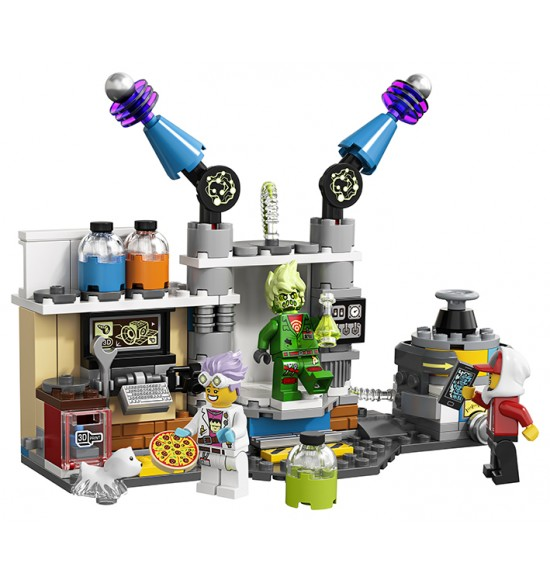 LEGO  70418 J. B. a jeho laboratórium plné duchov