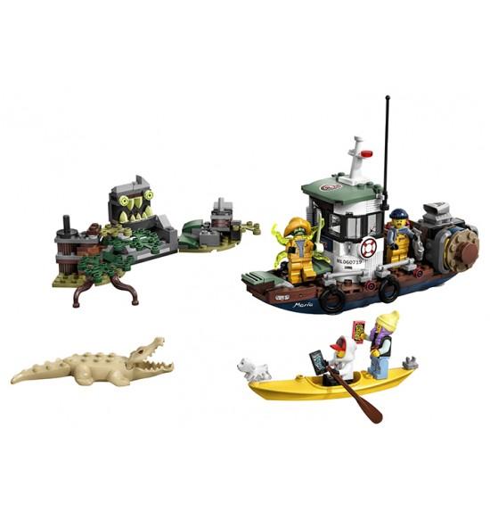 LEGO  70419 Stará rybárska bárka