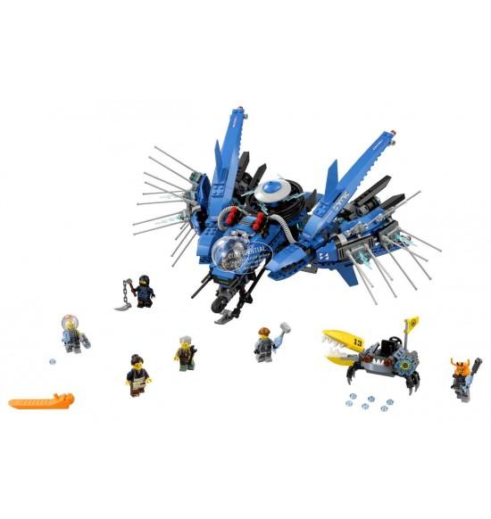 LEGO Ninjago 70614 Blesková stíhačka