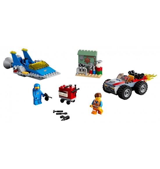 "LEGO Movie 70821 Emmetova a Bennyho dielňa ""Postav a oprav""!"