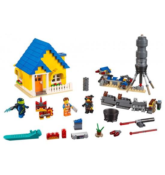 LEGO Movie 70831 Emmetov dom snov / záchranná raketa!