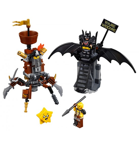 LEGO Movie 70836 Batman™ a Oceliak pripravení na boj
