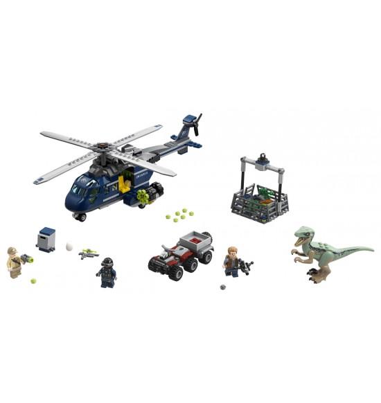 LEGO  75928 Blue a prenasledovanie helikoptérou