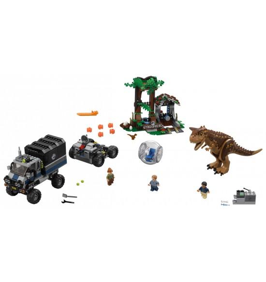 LEGO  75929 Útek v gyrosfére s Carnotaurom