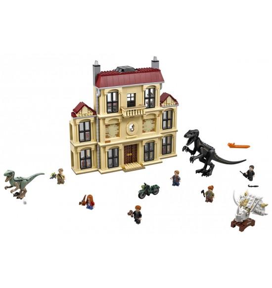 LEGO  75930 Vyčíňanie Indoraptora na panstve Lockwoodovcov