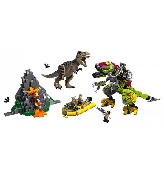 LEGO JURASIC PARK 75938 T. rex vs. Dinorobot
