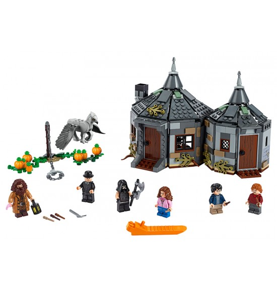 LEGO Harry Potter 75947 Hagridova chatrč: Záchrana Hrdozobca