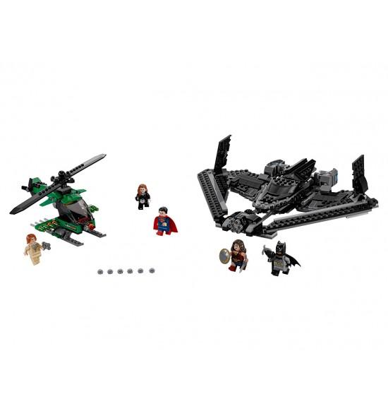LEGO Super Heroes 76046 Hrdinovia spravodlivosti: súboj vysoko v oblakoch