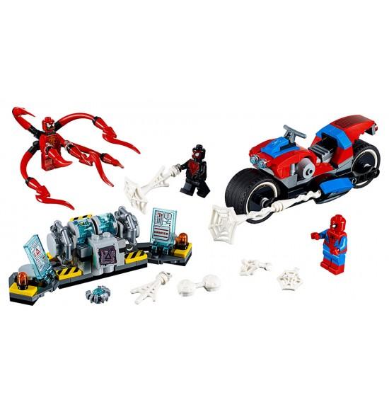 LEGO Super Heroes 76113 Spider-Man a záchrana na motorke
