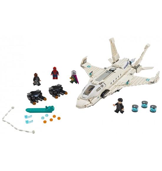 LEGO Heros 76130 Stíhačka Tonyho Starka a útok dronov